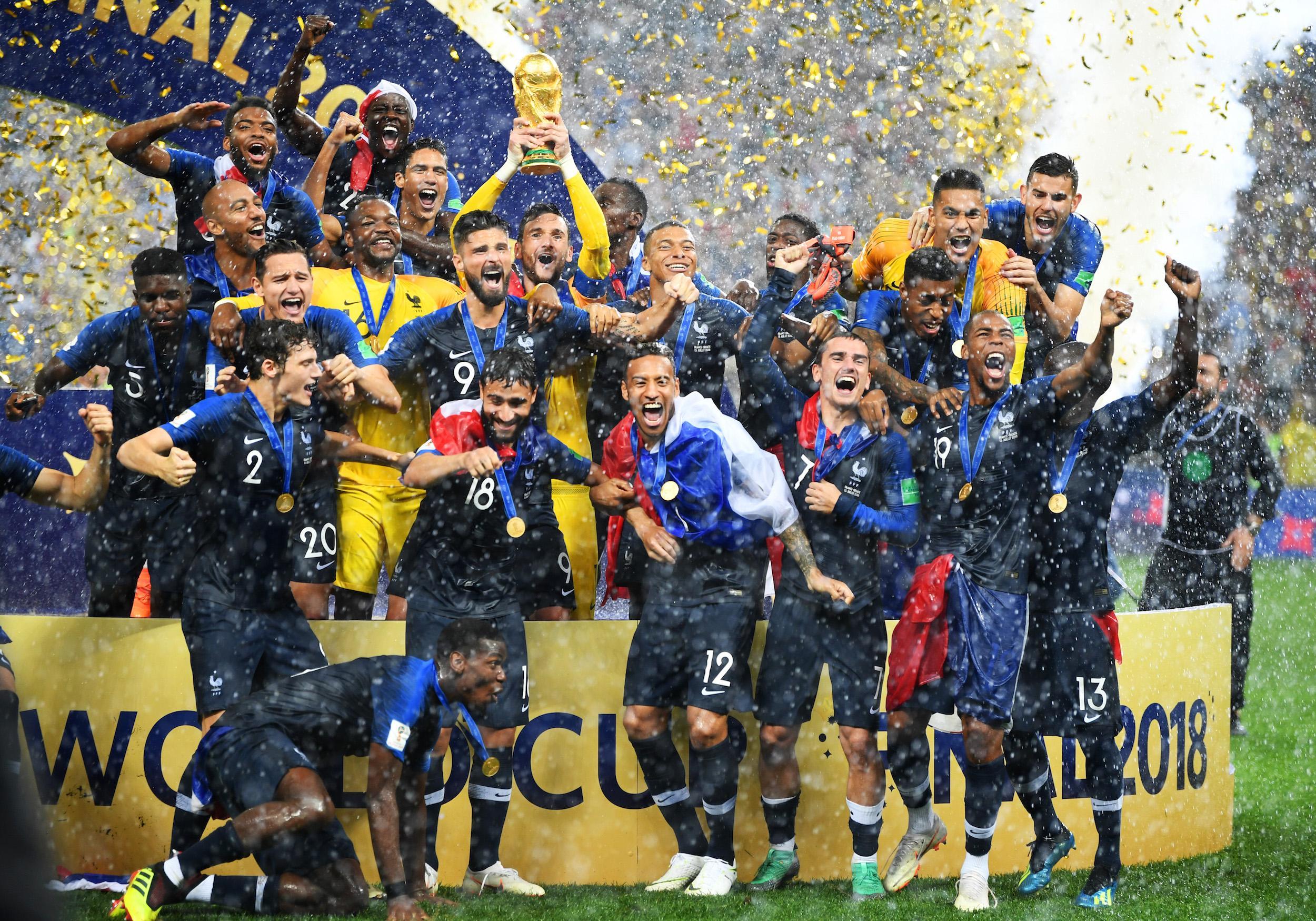 Un an après, revivez en images la victoire des Bleus