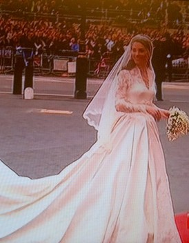 Robe de Kate Middleton elle a choisi Alexander McQueen