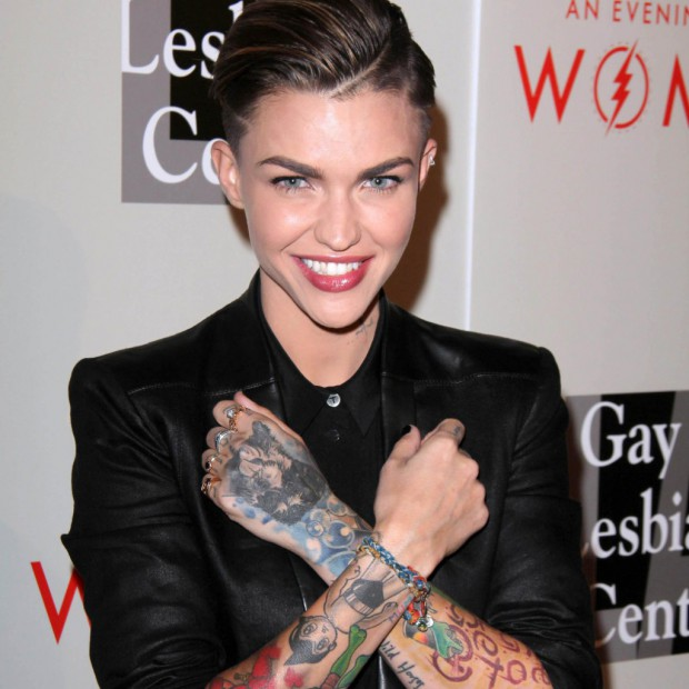 ruby rose   qui est la nouvelle d u00e9tenue de  u00ab orange is the