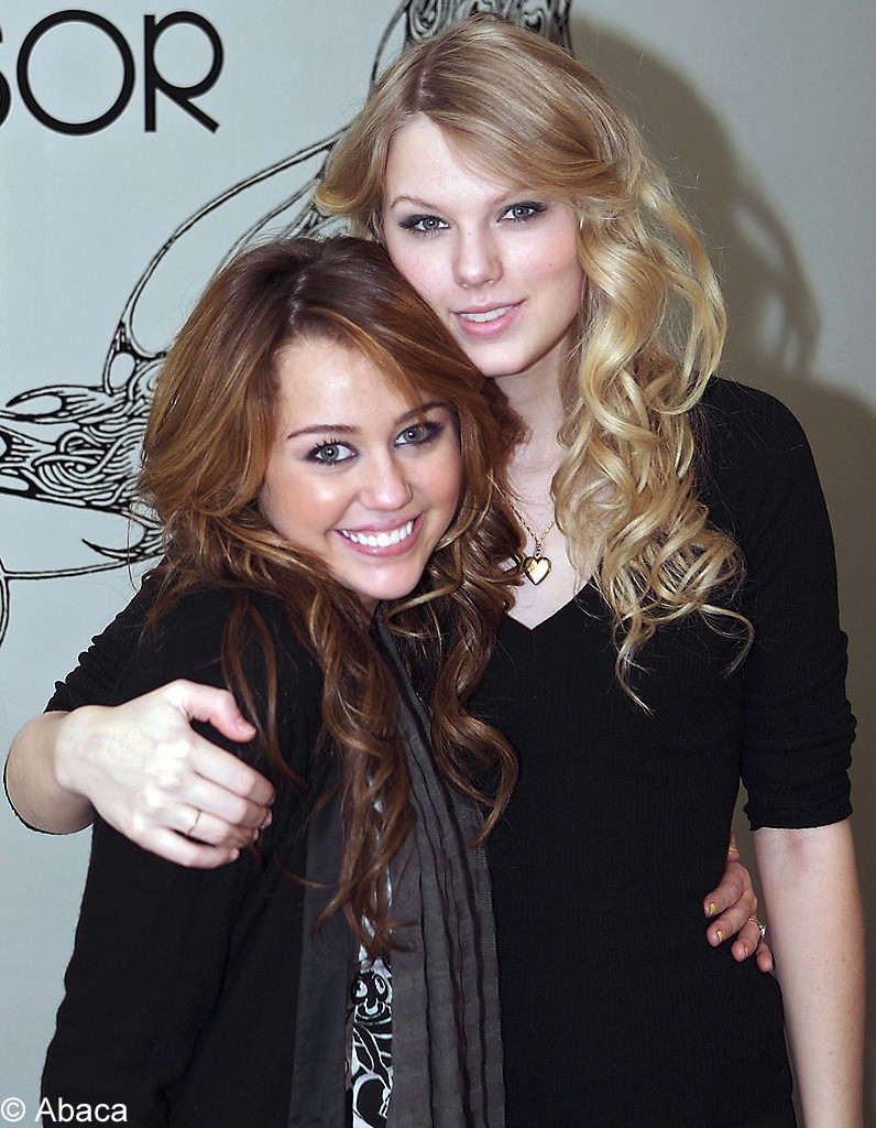 Miley Cyrus et Taylor Swift