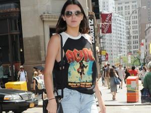 Le look du jour: Kendall Jenner est rock!