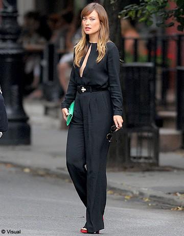Le look du jour : Olivia Wilde