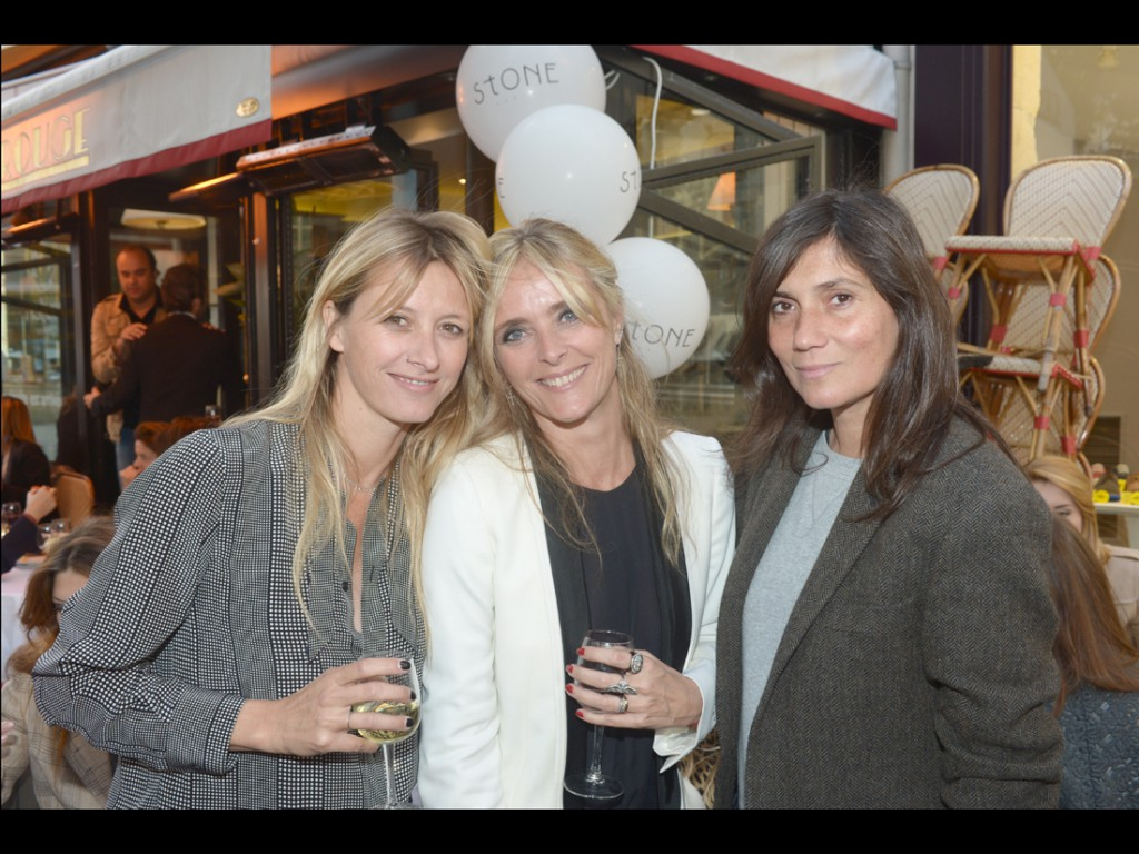sarah lavoine marie poniatowski et emmanuelle alt l 39 inauguration de la boutique stone paris. Black Bedroom Furniture Sets. Home Design Ideas
