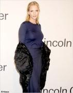 Uma Thurman sur son 31 pour la gala de charite de Ralph Lauren