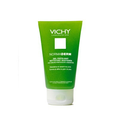 normaderm gel exfoliant nettoyant quotidien de vichy elle. Black Bedroom Furniture Sets. Home Design Ideas