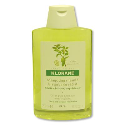 shampooing vitamin la pulpe de c drat klorane elle. Black Bedroom Furniture Sets. Home Design Ideas