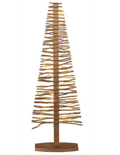 Sapin en bois dor blach re 10 sapins alternatifs elle - Sapin de noel en bois ...