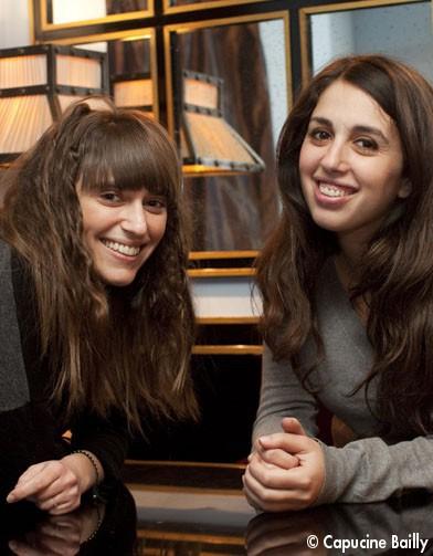 Myriam Levain et Julia Tissier, auteures de « La génération Y par elle-même ».