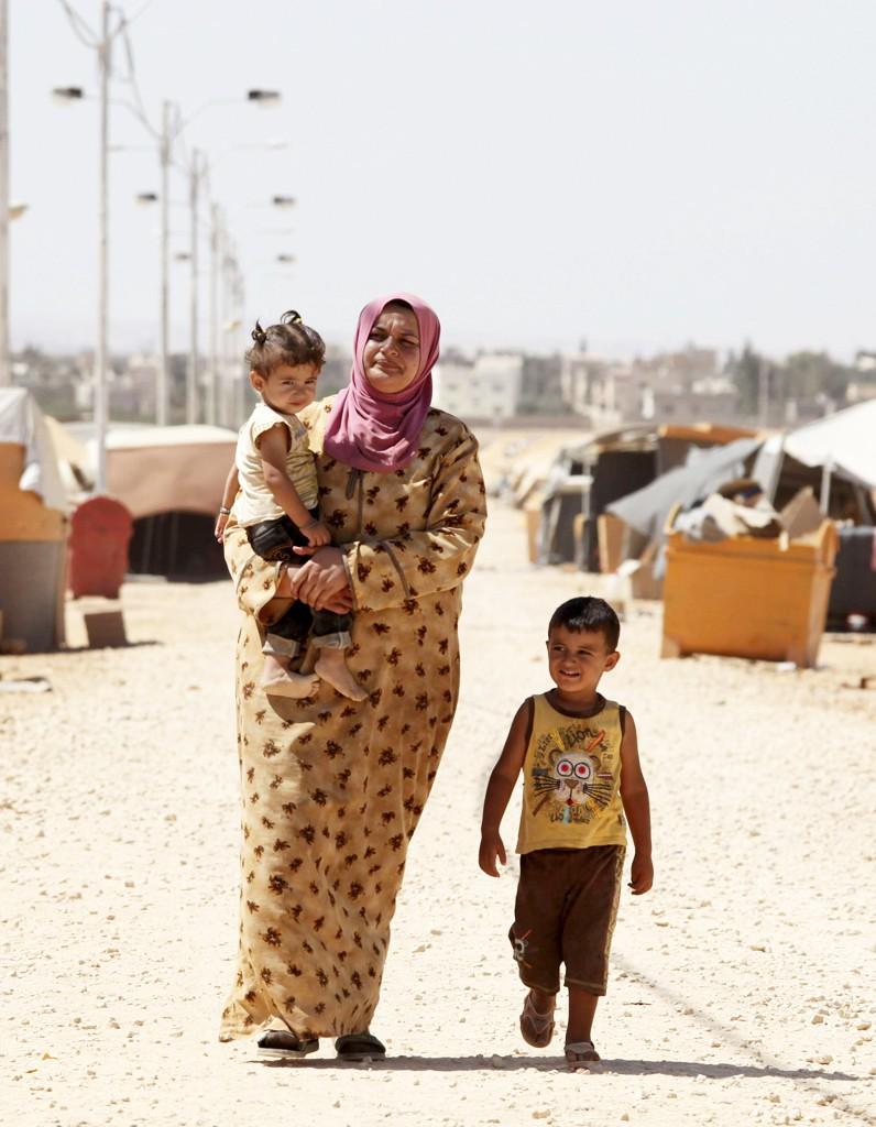 Les femmes syriennes fuient leur pays