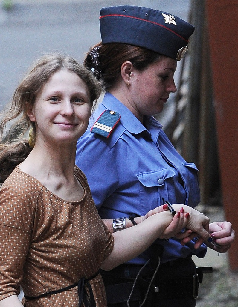 Les femmes de la semaine Maria Alekhina des Pussy Riot reste en prison