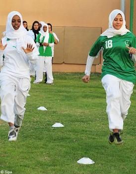 Arabie Saoudite les femmes privees de sport