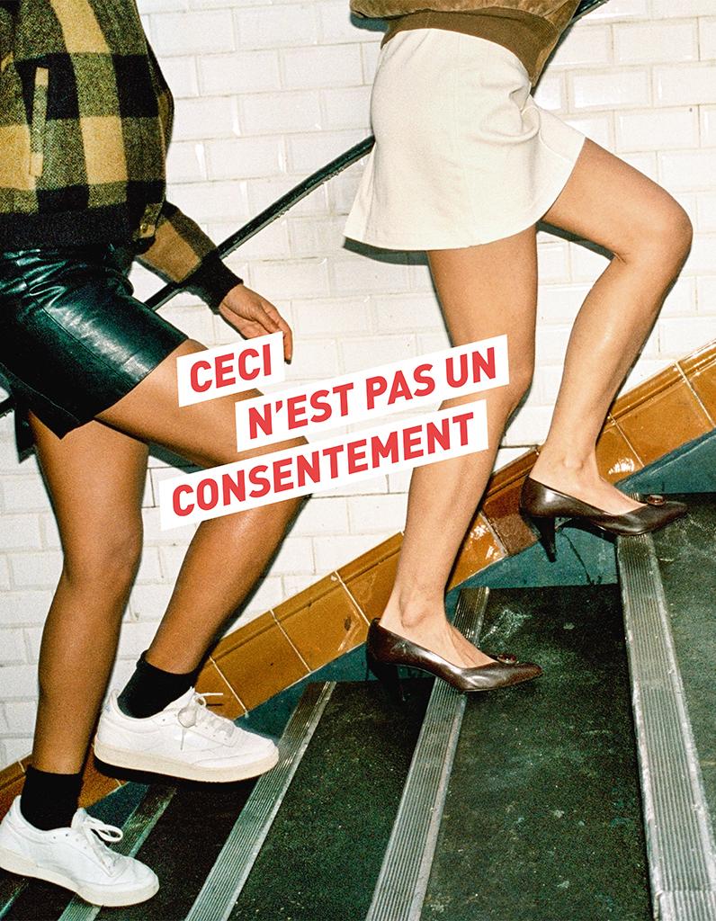 « Ceci n'est pas un consentement » : la campagne pour rappeler au monde entier que oui, on a le droit de s'habiller comme on veut - Elle