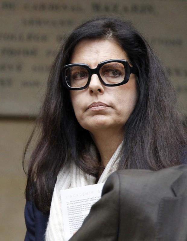 Francoise Bettencourt bouleversee par la mort d Olivier Metzner