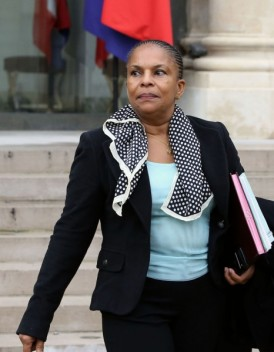 Mariage gay Christiane Taubira exclut le referendum