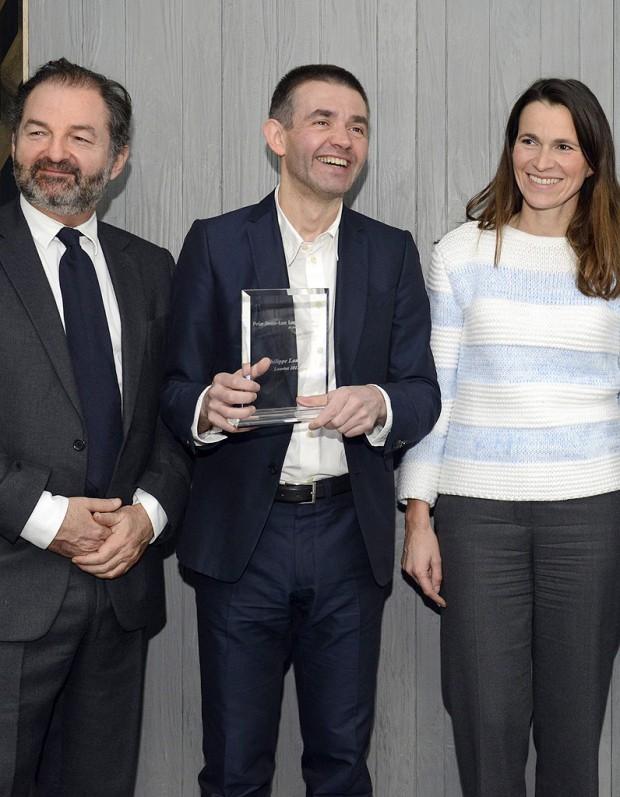 Philippe Lançon, lauréat du prix du journaliste de l'année