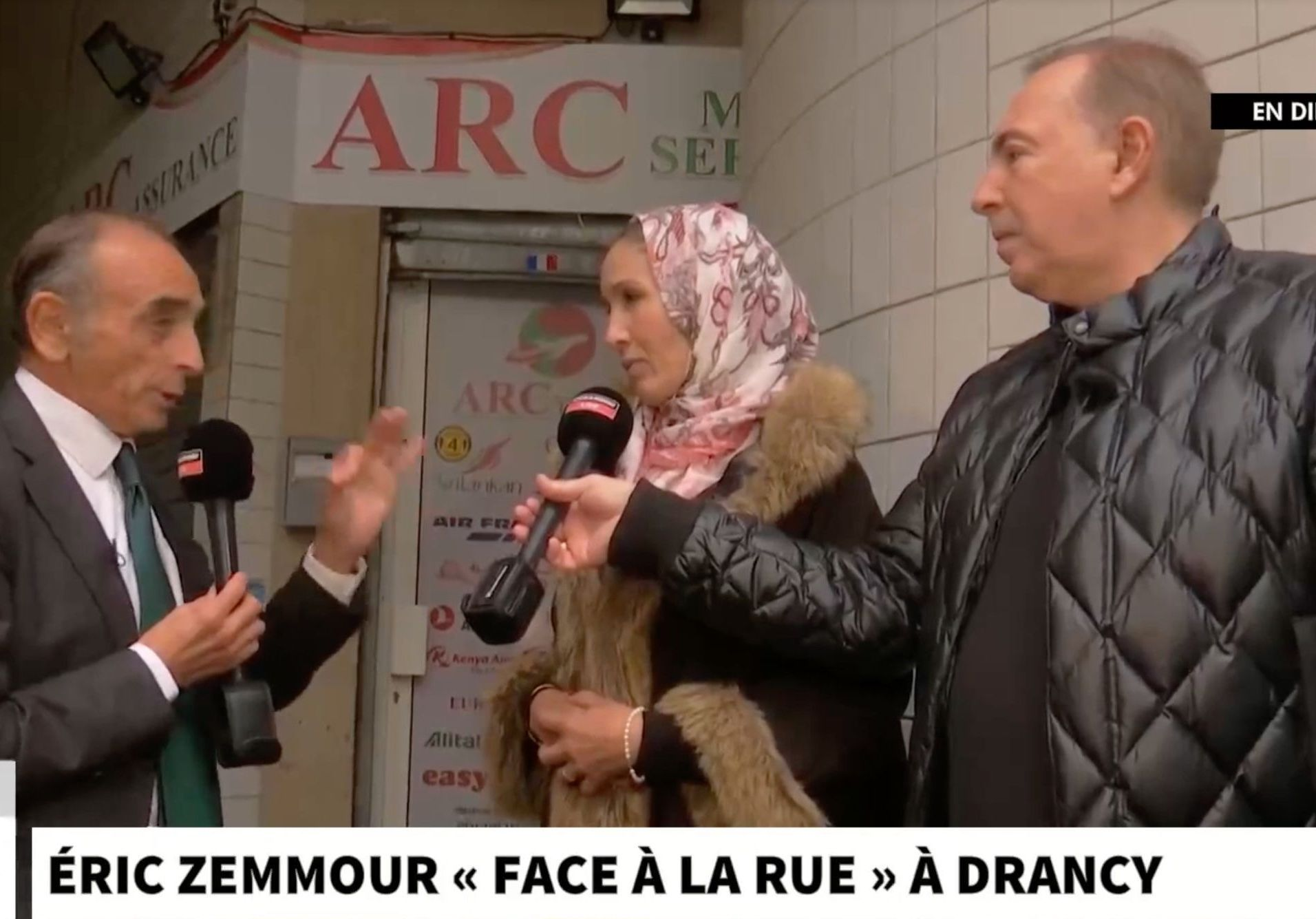 Zemmour à Drancy : « Une opération de bidonnage total »